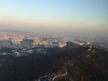 North Seoul from Namsan Tower