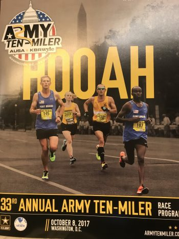 Same weekend as the Army 10 Miler. I made the front cover.